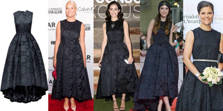 1 H&M-Kleid und 4 VIP-Damen
