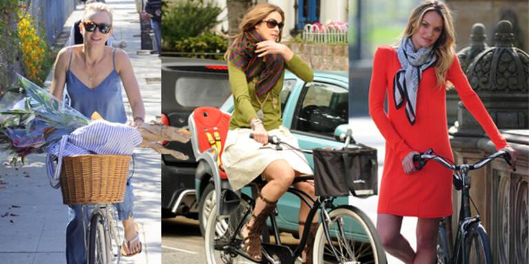 Fahrradsaison: Stylish am Drahtesel