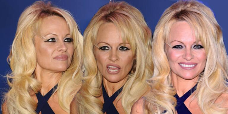 Pamela Anderson sieht aus wie ihre eigene Tante