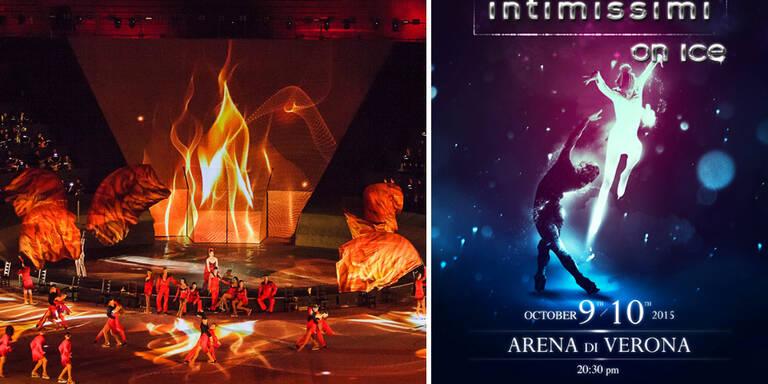 'Intimissimi on Ice' in der Arena von Verona