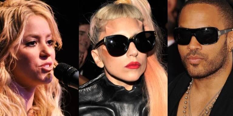Gaga, Longoria & Co: Stars beten für Japan