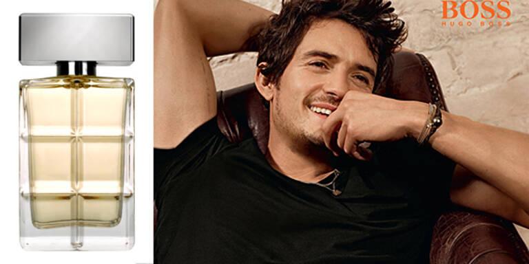 Orlando Bloom modelt für Hugo Boss