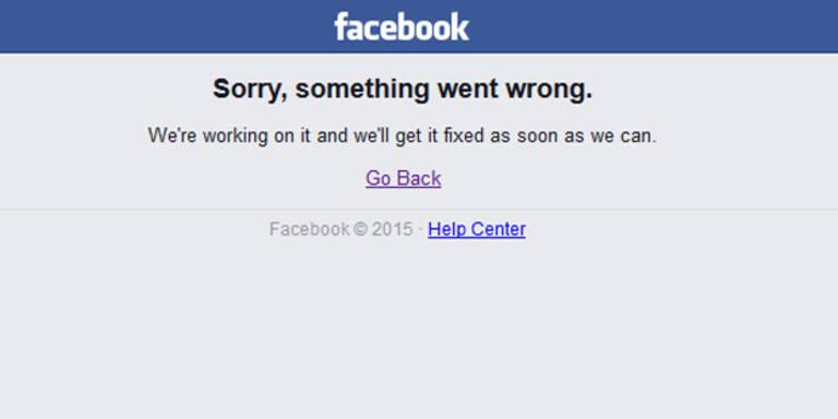 Facebook offline - Twitter explodiert