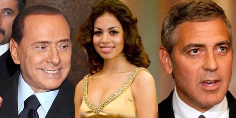 Clooney als Zeuge in Berlusconi-Prozess