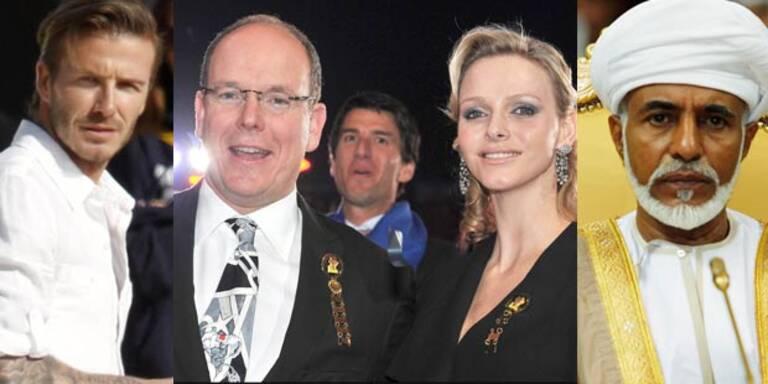 William & Kate: Ihre superreichen Gäste