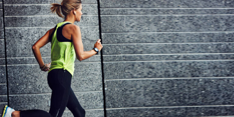 Diese Muskeln trainieren Sie beim Laufen