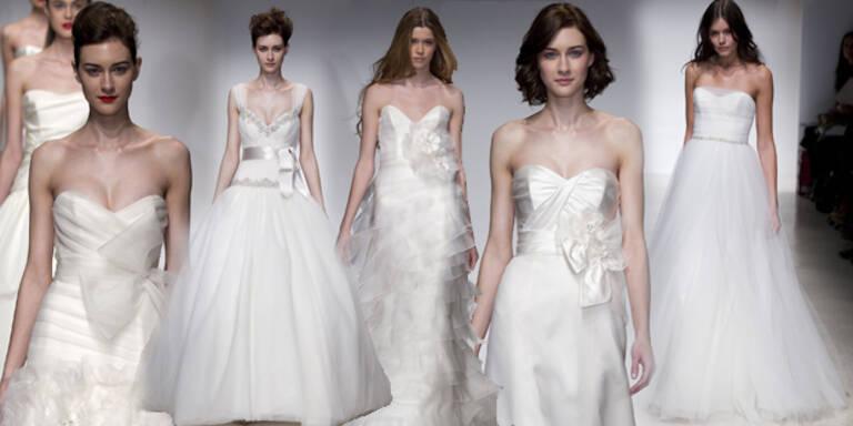 Neue Brautmoden-Trends aus N.Y.
