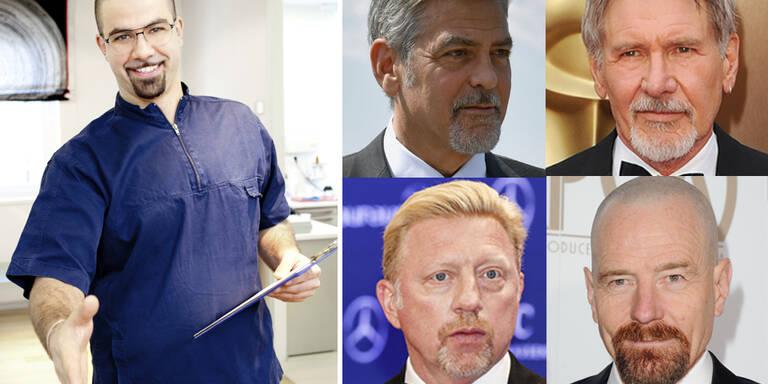 """""""Zahnarzt-Bart"""" ist Trend"""