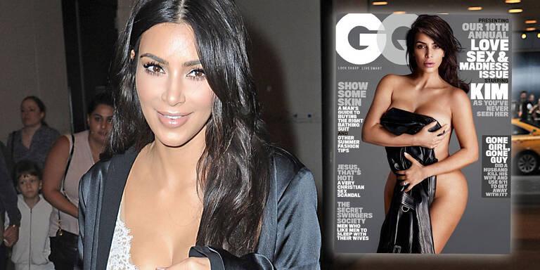 Wow! Kim Kardashian nackt in GQ