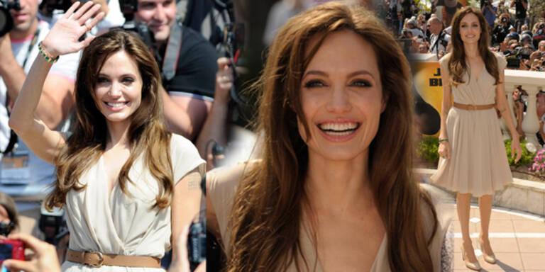 So verzaubert Angelina Cannes