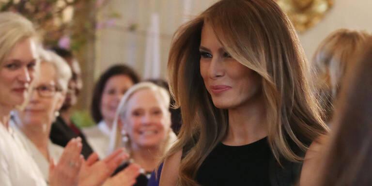 Das zerrissene Leben von Melania Trump