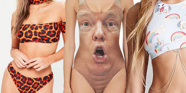 Die absurdesten Bikinis im Netz