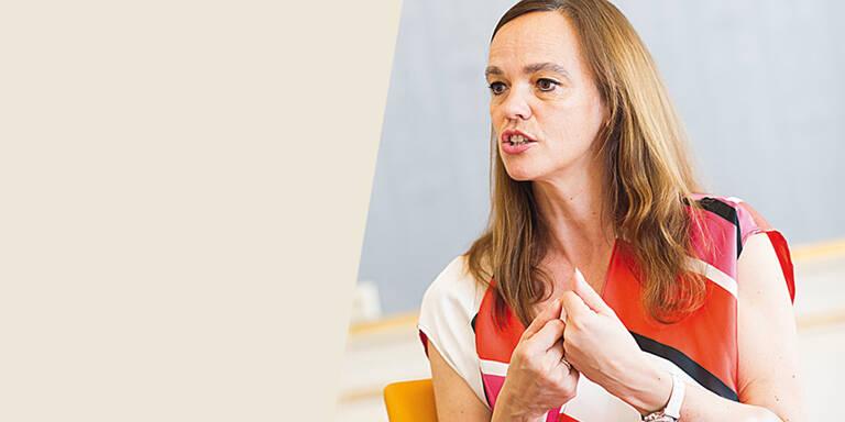 Sonja Hammerschmid im MADONNA-Talk