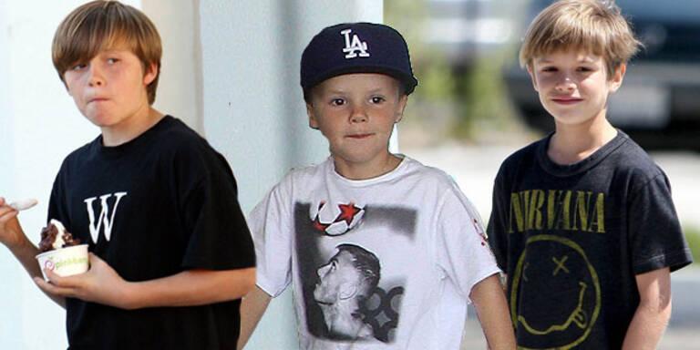 So stylish sind die Beckham-Boys