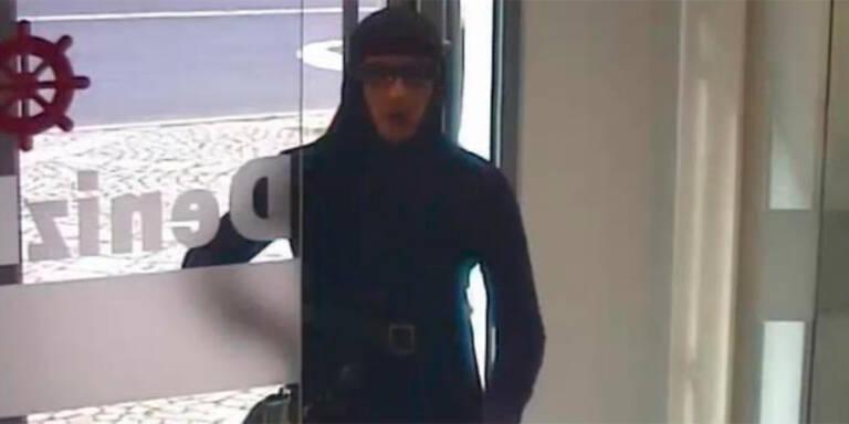 Mann überfiel Bank in muslimischer Damenkleidung