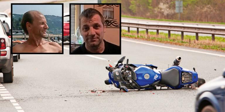 2 Brüder starben bei Biker-Unfällen