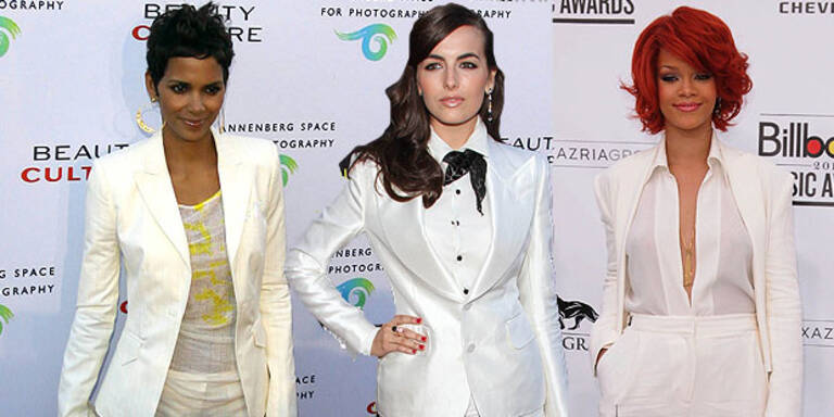 Sommertrend White Suits