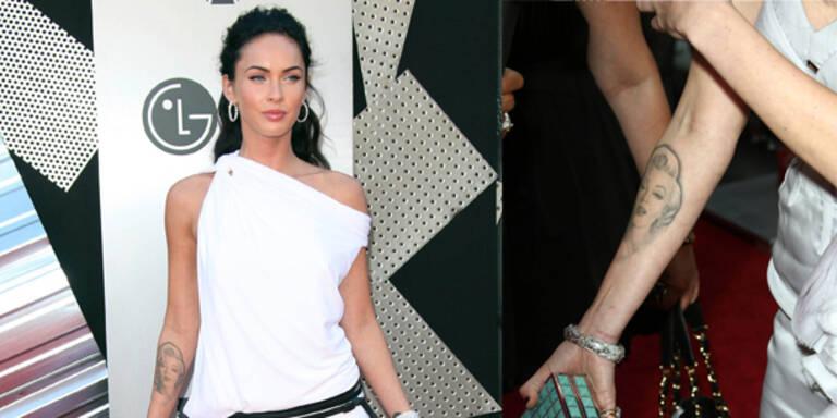 Megan Fox lässt Monroe-Tattoo entfernen