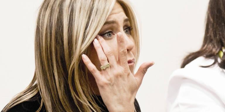 Aniston: Einsatz für Pink Ribbon
