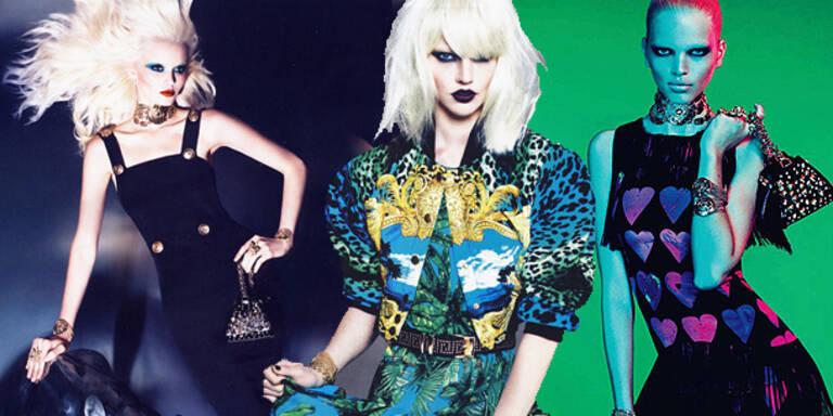 Erste Bilder der Versace-Kollektion für H&M