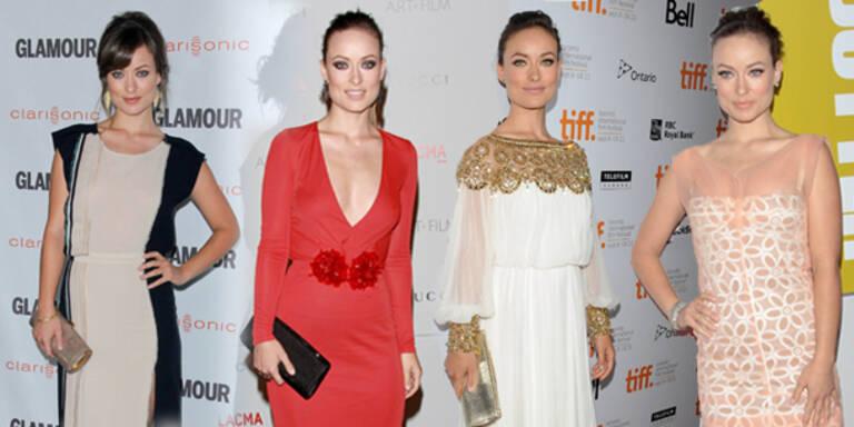 Olivia Wildes Red Carpet Looks