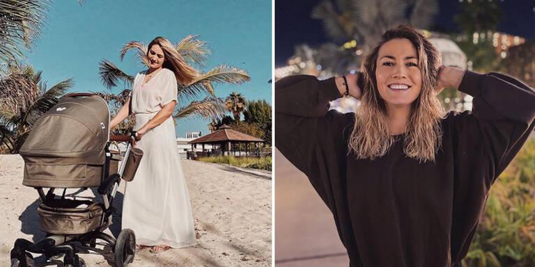 Model Fiona Erdmann fühlt sich rundum wohl