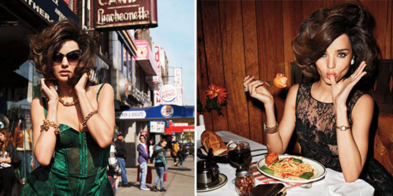 Miranda Kerr als Jackie O für Harper's Bazaar