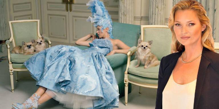 Kate Moss als moderne Marie Antoinette