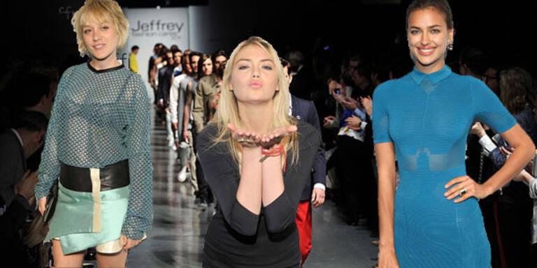 Kate Upton und Irina Shayk sexy bei Mode-Charity