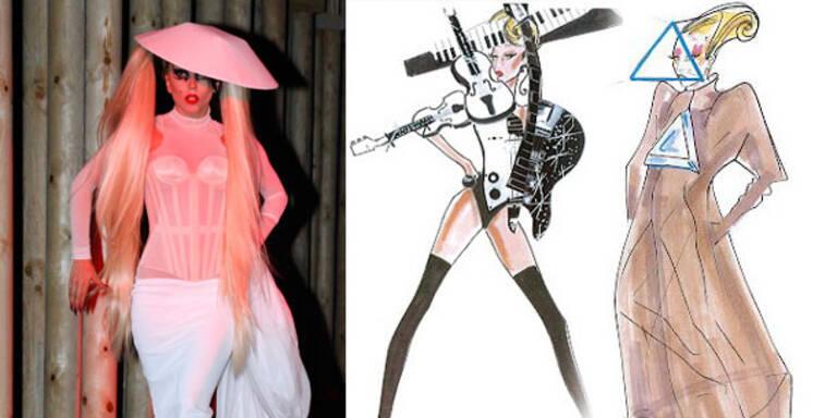 Lady Gagas neue Armani-Kostüme