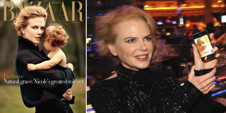 Nicole Kidman und Tocher als Covergirls