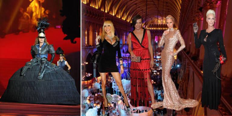 So wird die Fashion-Show