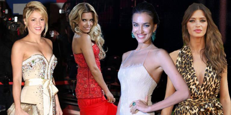 Die schönsten Spielerfrauen der EM 2012