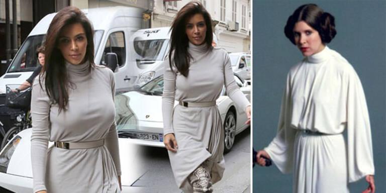 Kim Kardashian macht auf Prinzessin Leia