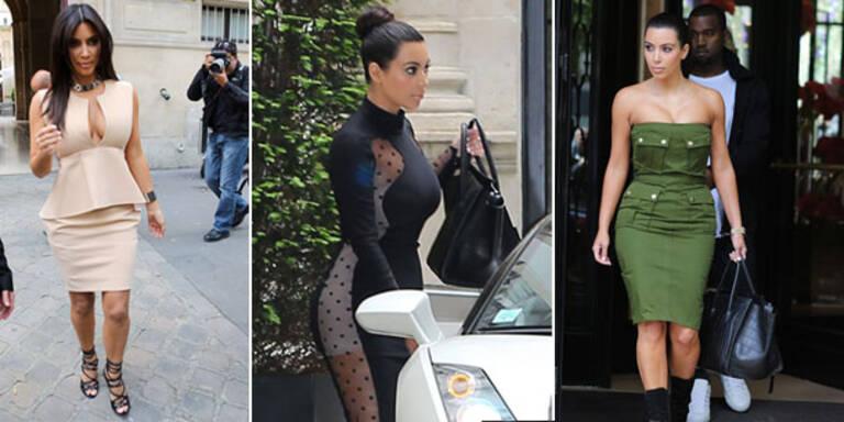Die neuesten Modesünden der Kim Kardashian