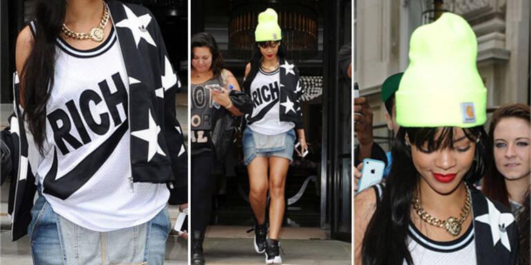 Rihannas Look wäre sogar im Ghetto verboten