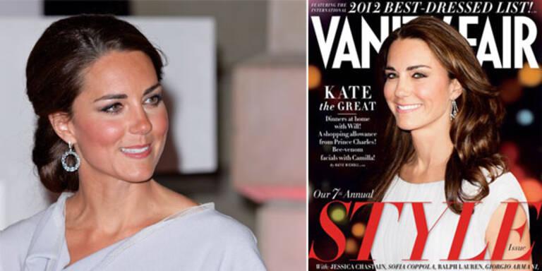 "Kate Middleton führt ""Best Dressed""-Liste an"