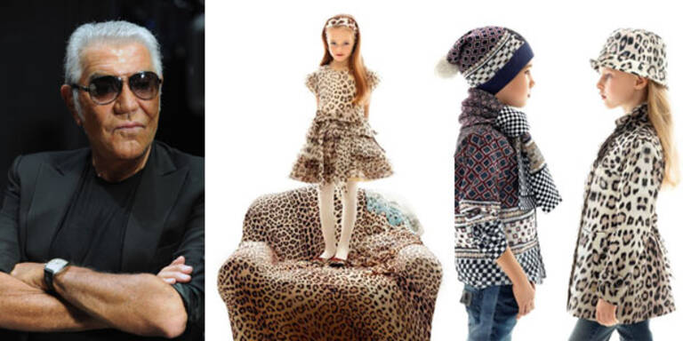 Roberto Cavalli entwirft Kinderkollektion