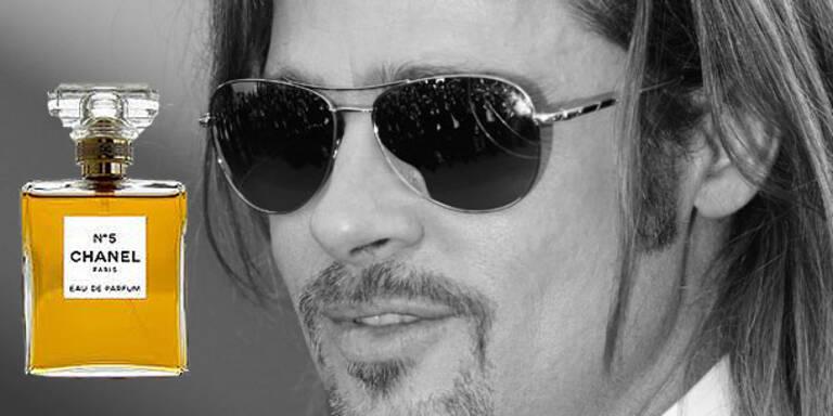 Brad Pitt ist das neue Gesicht von Chanel No.5