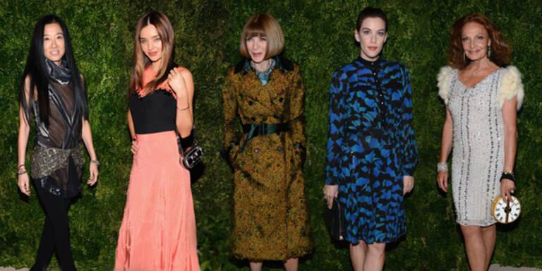 Star-Auflauf bei Mode-Gala