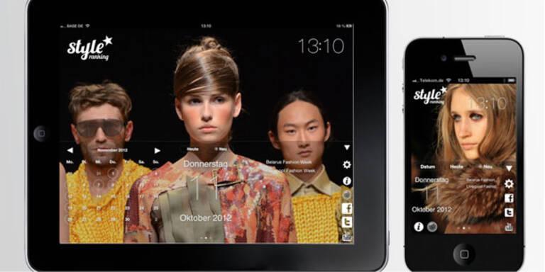 Die erste Modekalender-App für Iphone und Ipad