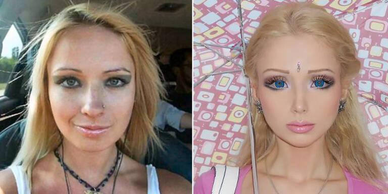 So sah die lebende Barbie früher aus