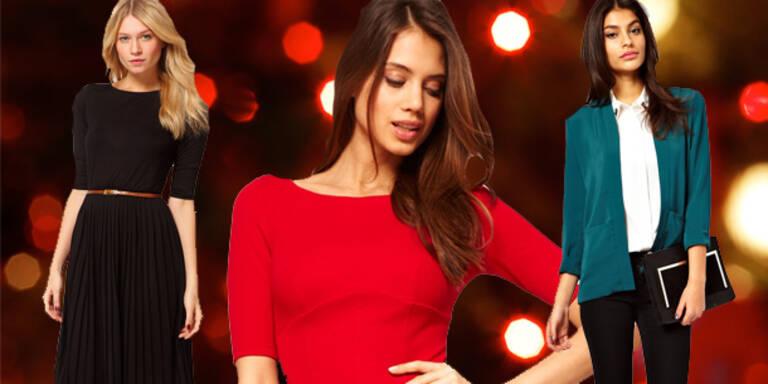 Mode-Knigge für die Weihnachtsfeier