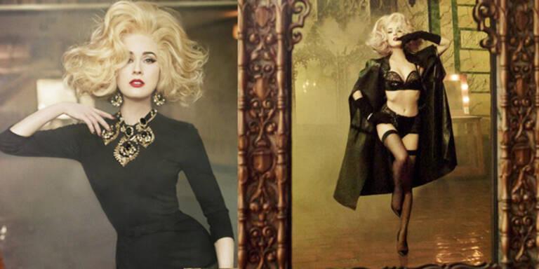 Dita Von Teese zeigt sich als Blondine