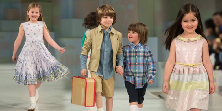 Erste Kinder-Fashion Week in London