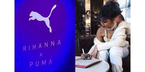 Rihanna ist Puma- Kreativdirektorin