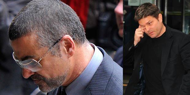 George Michael: Tränen & Zusammenbruch
