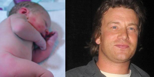 Jamie Oliver zeigt seinen Sohn im Netz