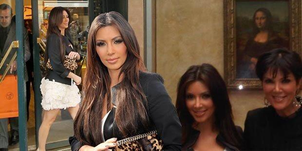 Kim gab 100.000 Dollar für 7 Taschen aus