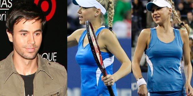 Kournikova & Iglesias: Baby unterwegs?